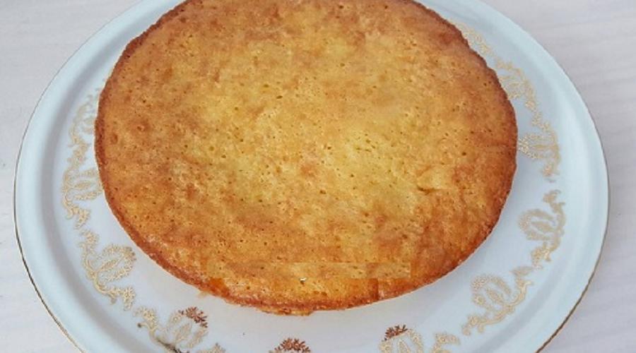 Gâteau aux pommes et à la banane