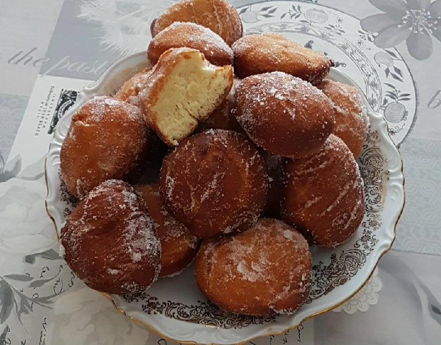Beignets de notre enfance les recettes de titi - Recette beignet facile avec levure de boulanger ...