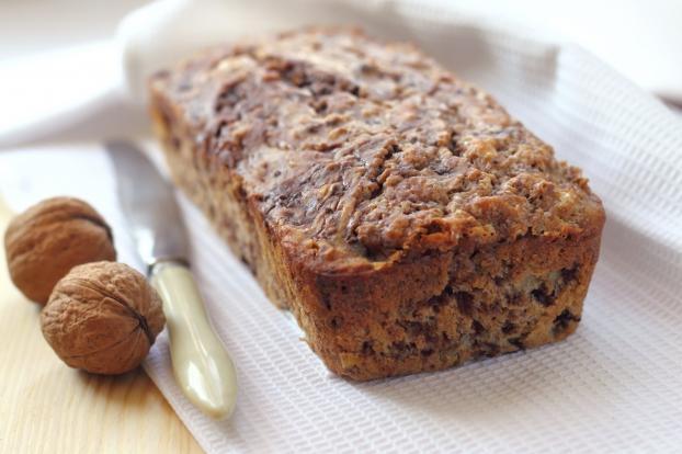 Cake aux noix classique de Sandrine