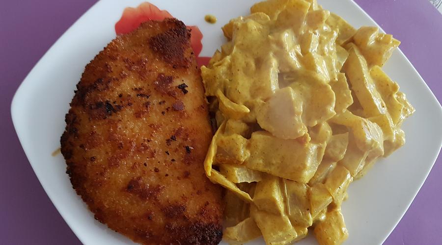 Fenouil à la crème de curry