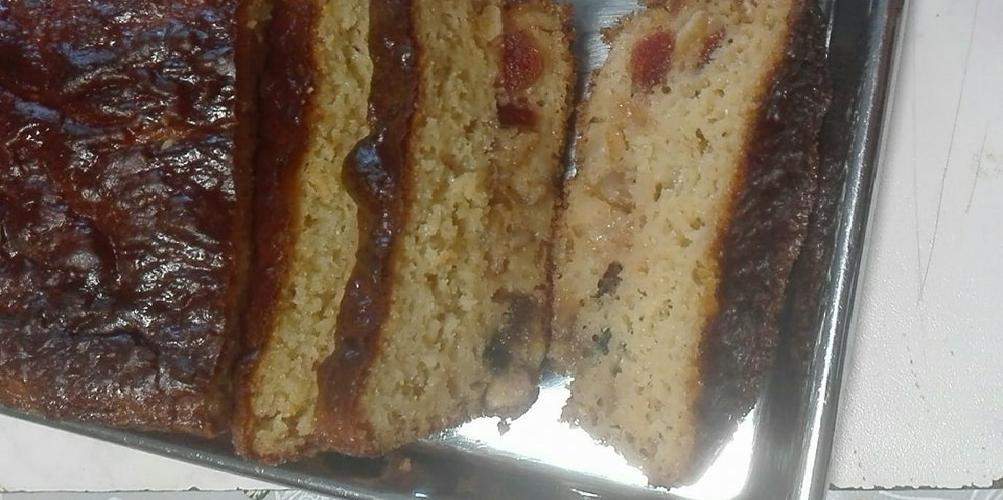 Cake au fruits confits de Sandrine
