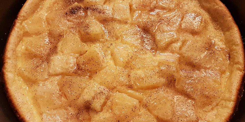 Clafoutis aux ananas