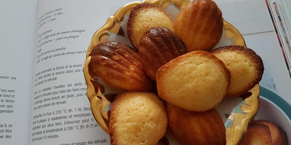 Minis madeleines maison