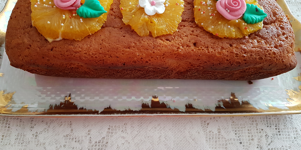 Cake à l'orange « Aux délices de Manue »
