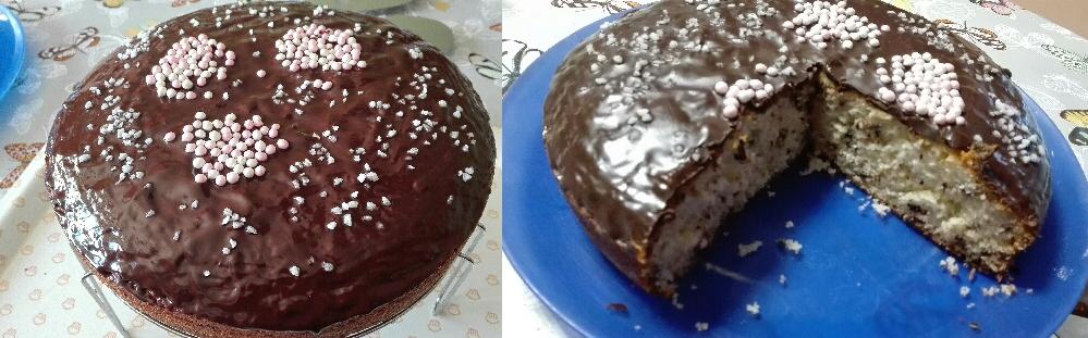 Gâteau yaourt aux copeaux de chocolat de Sandrine