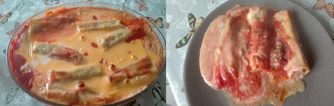 Cannellonis aux épinards de Sandrine