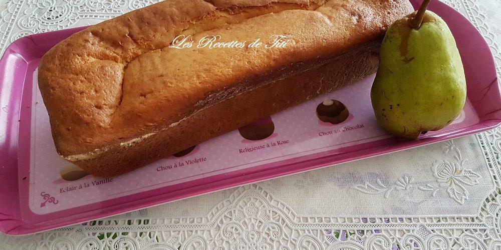 Cake mascarpone et poires