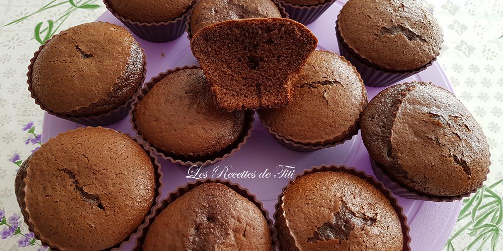 Muffins au chocolat de Titi