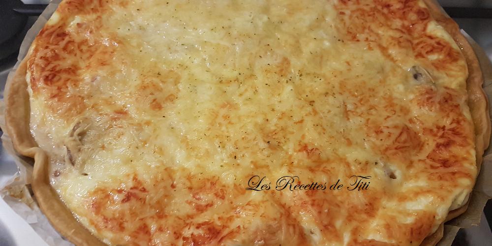 Quiche au fromage blanc