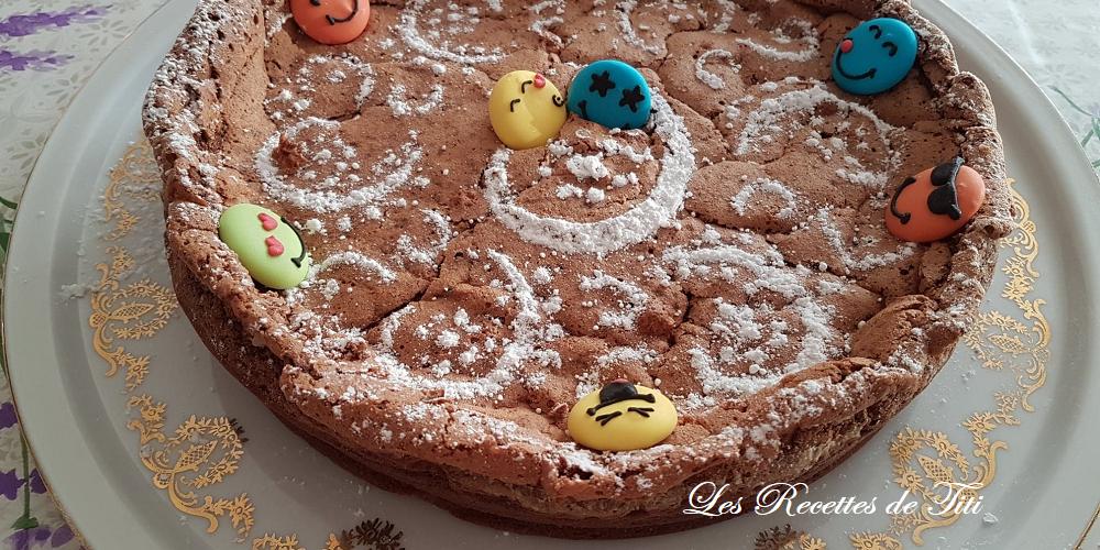 Gâteau mousse choco de La Nonna