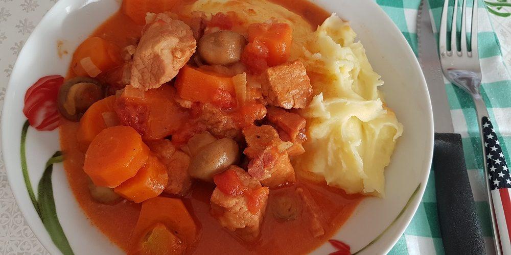 Goulash de porc à ma façon et au Cookeo
