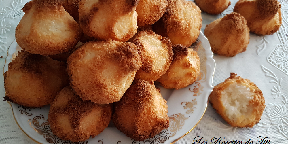 Rochers coco (macarons)