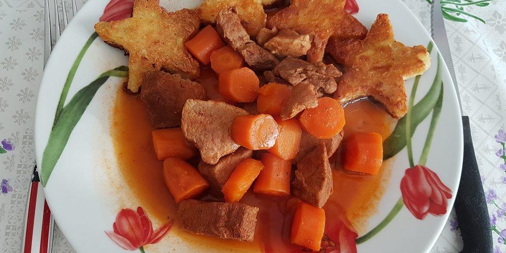 Ragoût de porc et carottes au paprika et cumin au Cookeo