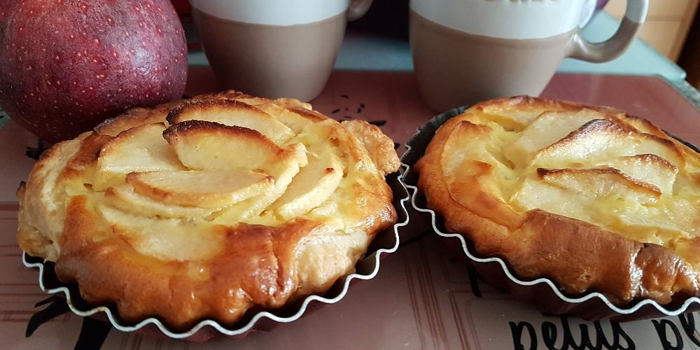 Tartelettes aux pommes et noix de coco