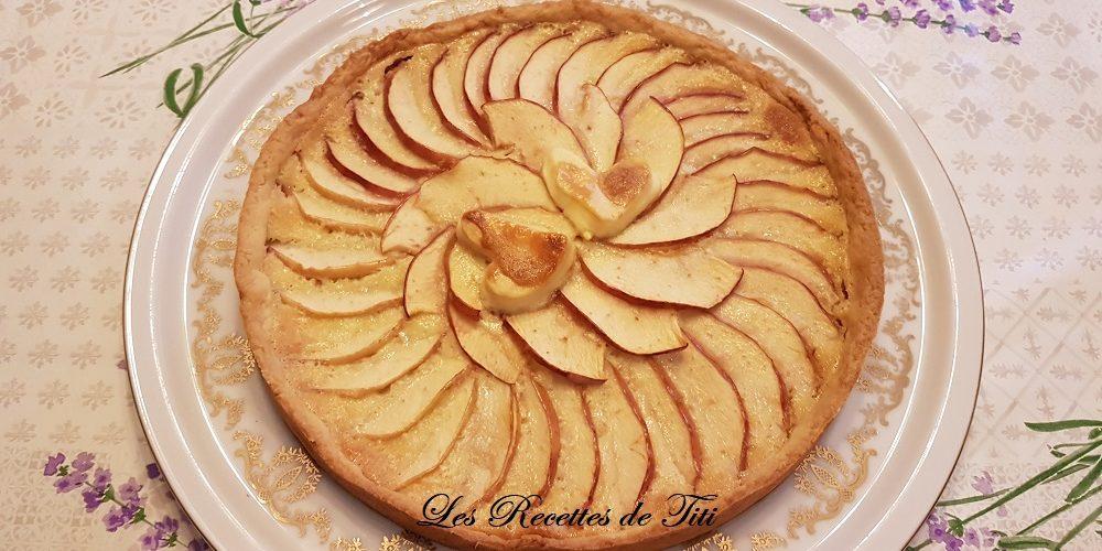 Tarte aux pommes au mascarpone et petits flans aux pommes