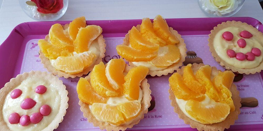 Tartelettes aux oranges