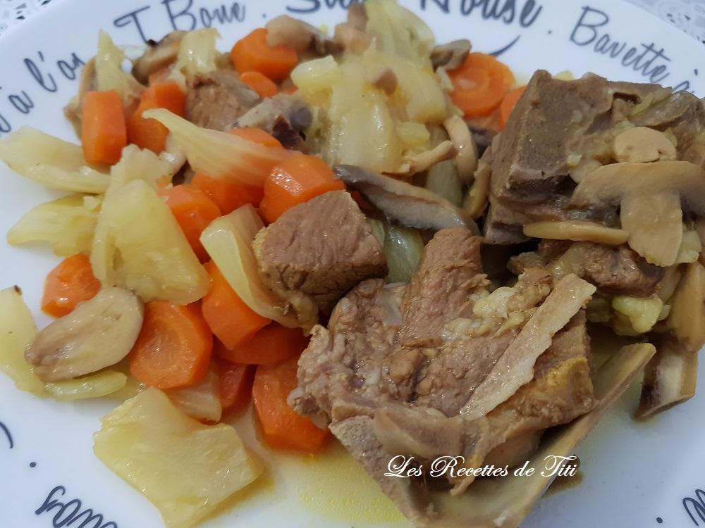 Sauté de veau au fenouil au Cookeo | Les Recettes de Titi