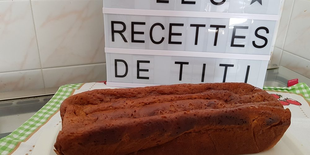 Cake aux bananes au Cook'in