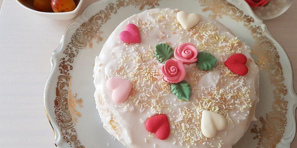Gâteau nuage lorrain garni aux mirabelles