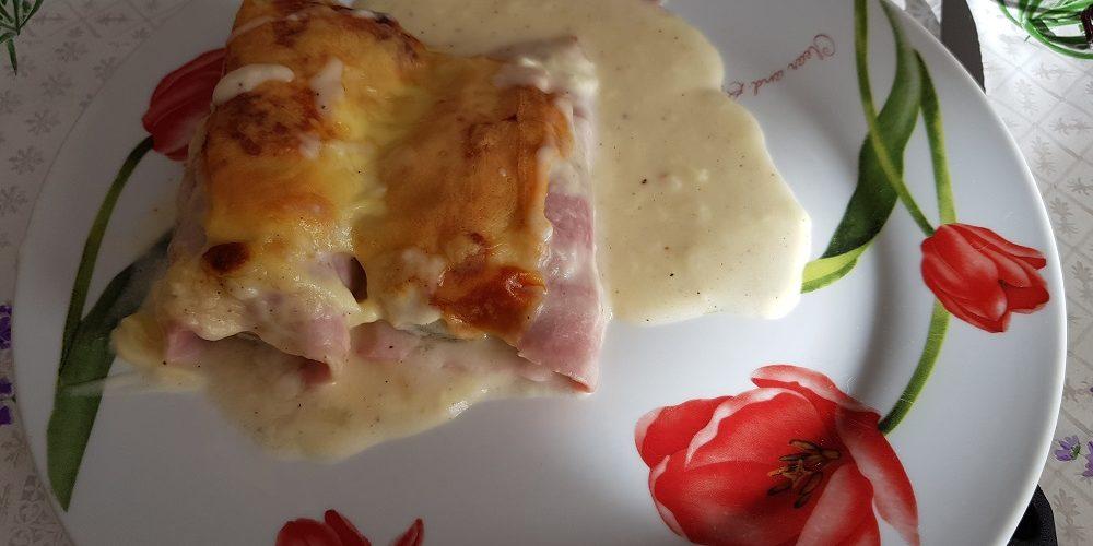 Endives au jambon gratinée