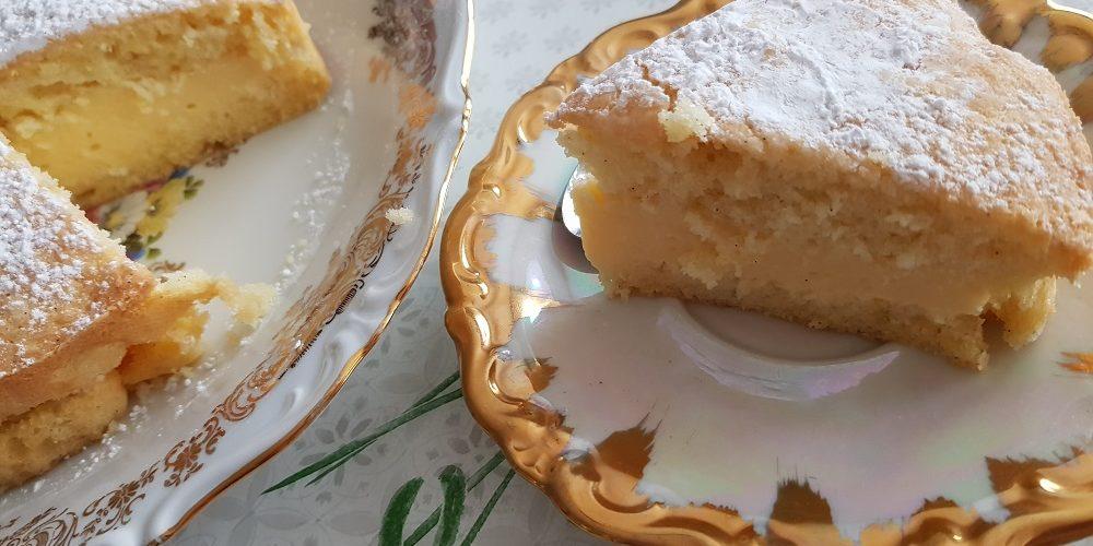Gâteau nuage lorrain à la crème pâtissière