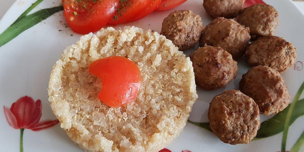 Boulettes pur boeuf au Cookeo