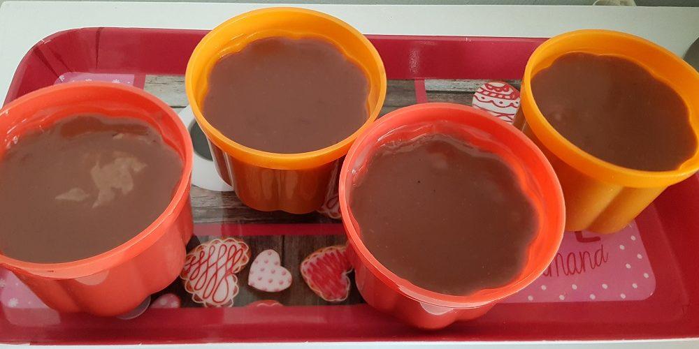 Petits flans chocolatés