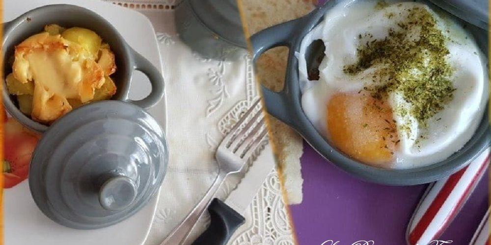 Mini cocottes gratinées surprises
