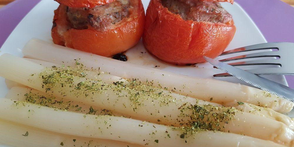 Tomates farcies cajun
