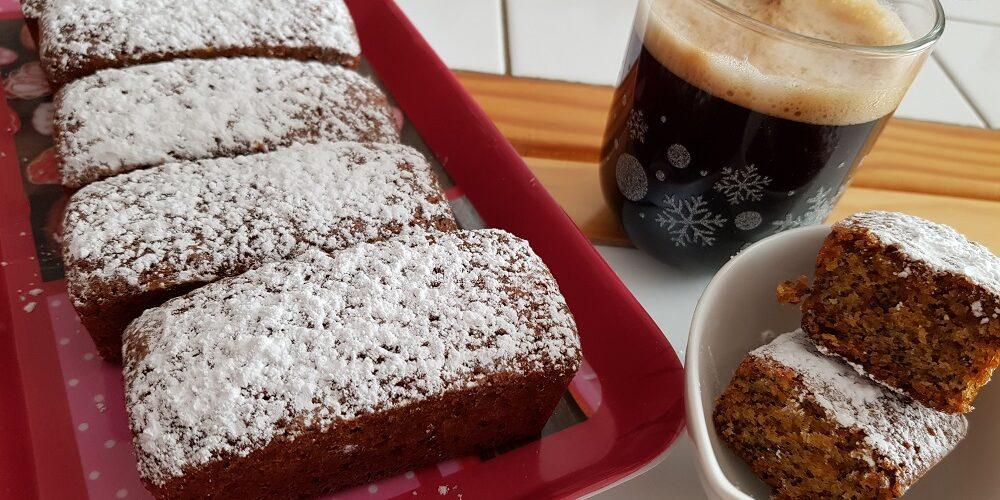Minis cakes au citron et graines de pavot bleu