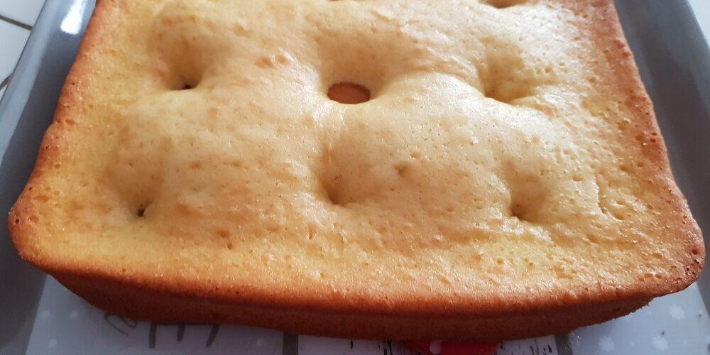 Gâteau aux abricots au Cake Factory