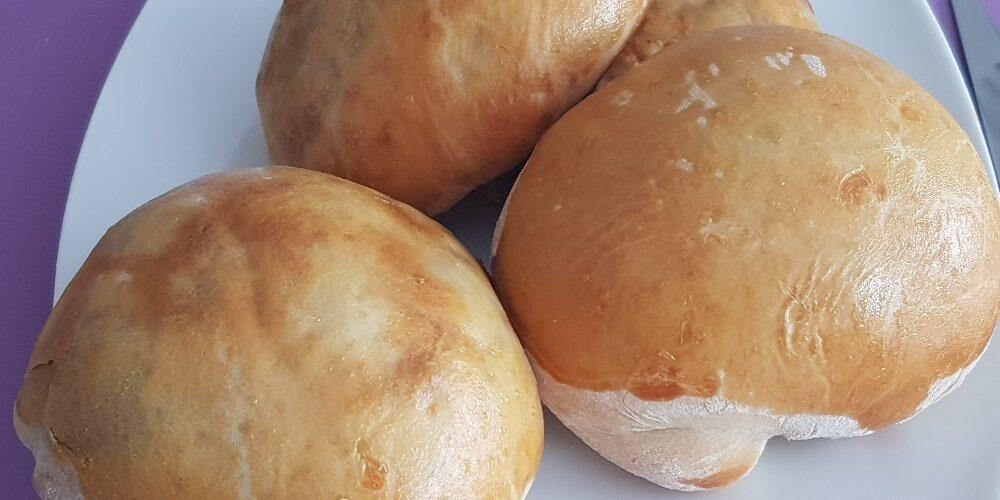 Bun's lardons champignons et poivrons maison