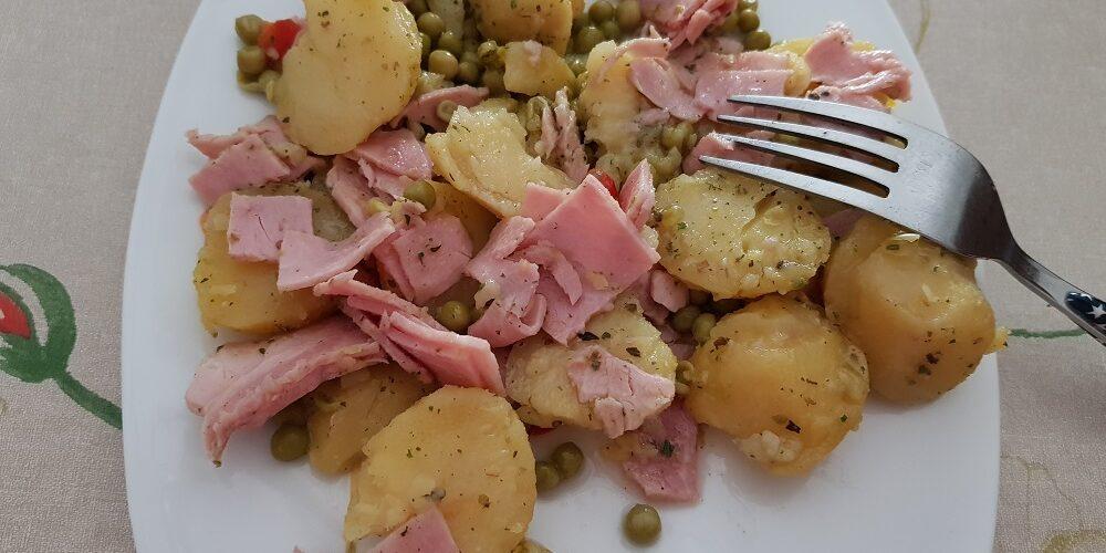 Salade de pommes de terre à ma façon