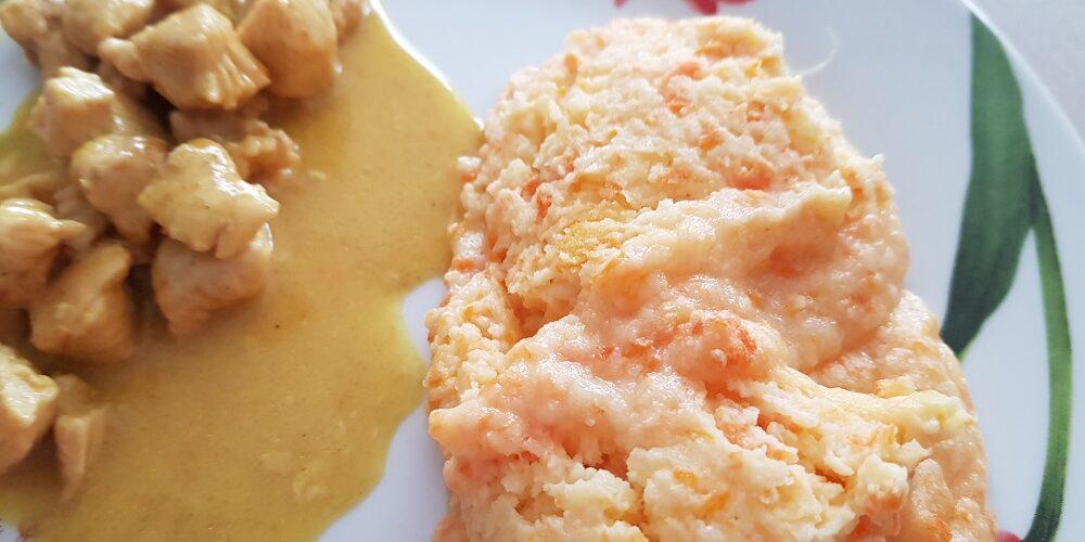Soufflé aux pommes de terre et carottes