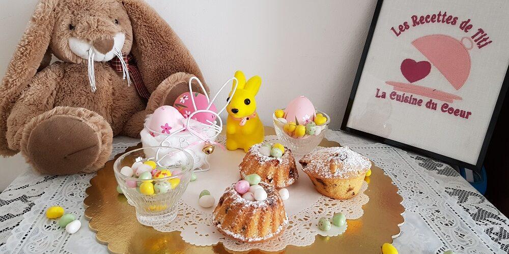 Petits nids de Pâques aux pépites 3 chocolats