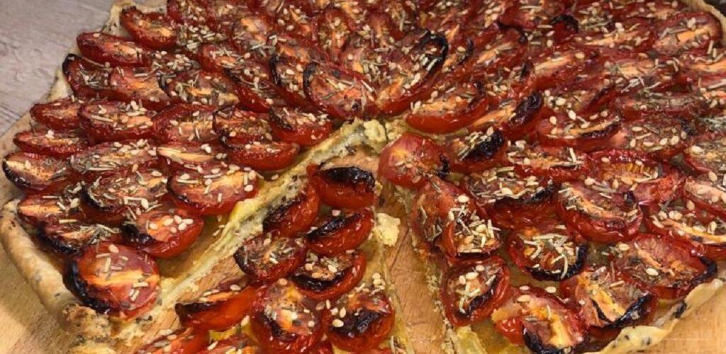 Tarte aux tomates cerise de Lilou