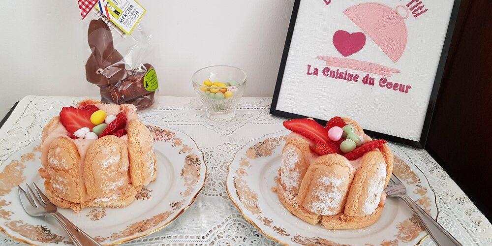 Gâteaux aux fraises façon charlotte