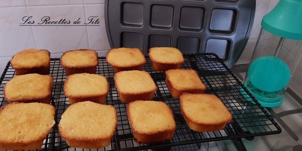 Gâteaux yaourt aux abricots